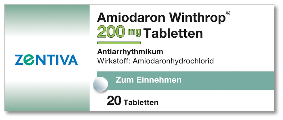 AMIODARON Winthrop 200 mg Tabletten