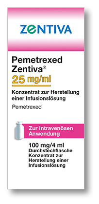 Pemetrexed Zentiva 0,4 mg