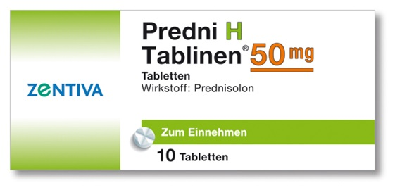 PREDNI H Tablinen 50 mg Tabletten