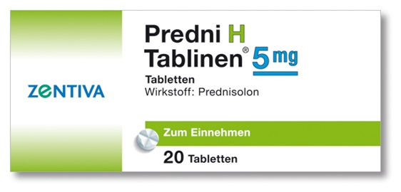 PREDNI H Tablinen 5 mg Tabletten