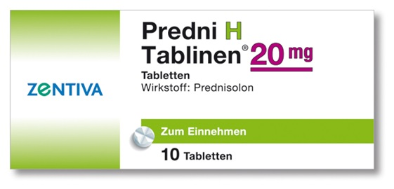 PREDNI H Tablinen 20 mg Tabletten