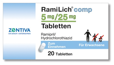 RAMILICH comp 5 mg/25 mg Tabletten