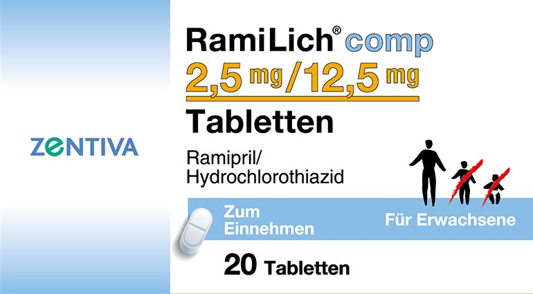 RAMILICH comp 2,5 mg/12,5 mg Tabletten