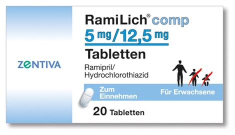 RAMILICH comp 5 mg/12,5 mg Tabletten