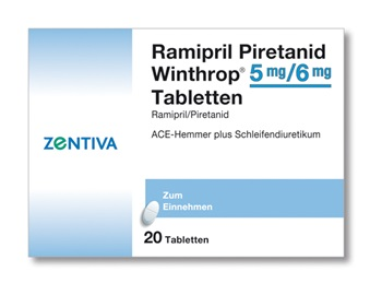 RAMIPRIL Piretanid Winthrop 5/6 mg Tabletten
